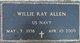 Willie Ray Allen