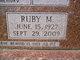 Ruby Marie <I>Denney</I> Foster