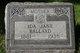 Ida Jane <I>Ward</I> Ballard