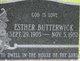 Esther Butterwick