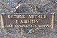 George Arthur Cahoon