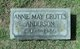 Annie May <I>Crotts</I> Anderson