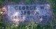 George W Spoon