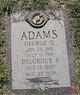 Profile photo:  George Quincy Adams