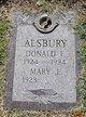 Donald E. Alsbury
