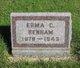 Profile photo:  Erma Cecelia <I>Lewis</I> Benham