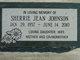 Sherrie Jean <I>Brown</I> Johnson