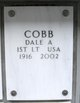 Profile photo:  Dale A Cobb