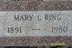 Mary Ida <I>Piatt</I> Ring