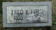 Fred Robert Ford