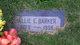 Allie Edwin Barker