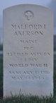 PFC Malford I Akerson