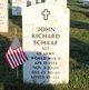 Profile photo: Sgt John Richard Schaaf