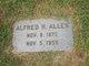 Alfred H Allen