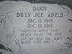 Profile photo:  Billy Joe Abels