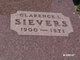 """Clarence Lee """"Pete"""" Sievers"""