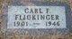 Carl F Flickinger