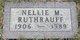 Nellie M <I>Jones</I> Ruthrauff