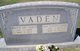 Walter Dix Vaden