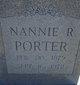 Nannie R Porter