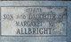 Infant Son Allbright
