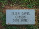 Profile photo:  Ellen <I>Davis</I> Gibson