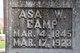 """Asa William """"Asa"""" Camp"""