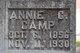 "Caroline ""Annie"" <I>Lindman</I> Camp"