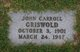 John Carroll Griswald