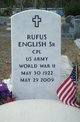 "Profile photo: Corp Rufus """"Tom"""" English, Sr"