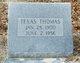 Profile photo:  Texas Thomas