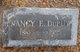 Nancy Elizabeth <I>Kilgore</I> Dupuy