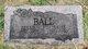 Profile photo:  Bessie Anna <I>Ford</I> Ball