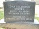 Edna Viola <I>Dickinson</I> Bowers