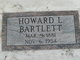 Profile photo:  Howard Lee Bartlett