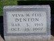 Veva M. <I>Feis</I> Denton
