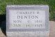 Charles Ross Denton