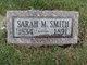 "Sarah M ""Sally"" <I>Miller</I> Smith"