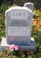 Mabel Thompson <I>Stephens</I> Lewis
