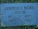 Profile photo:  Gertrude <I>Ricks</I> Austin