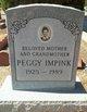 """Eleanor Linn """"Peggy"""" <I>Gipson</I> Impink"""