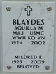 Profile photo:  Aquilla M. Blaydes