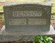 Mathilda Emmaline <I>Lair</I> Benson