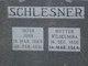 Wilhelmine <I>Buske</I> Schlesner