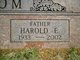 Harold Eugene Barcom
