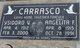 Profile photo:  Ysidoro V. Carrasco