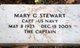 Capt Mary G Stewart