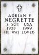 Profile photo:  Adrian P Negrette
