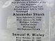 Alexander Shank