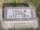 Cora M. <I>Platts</I> Lundy